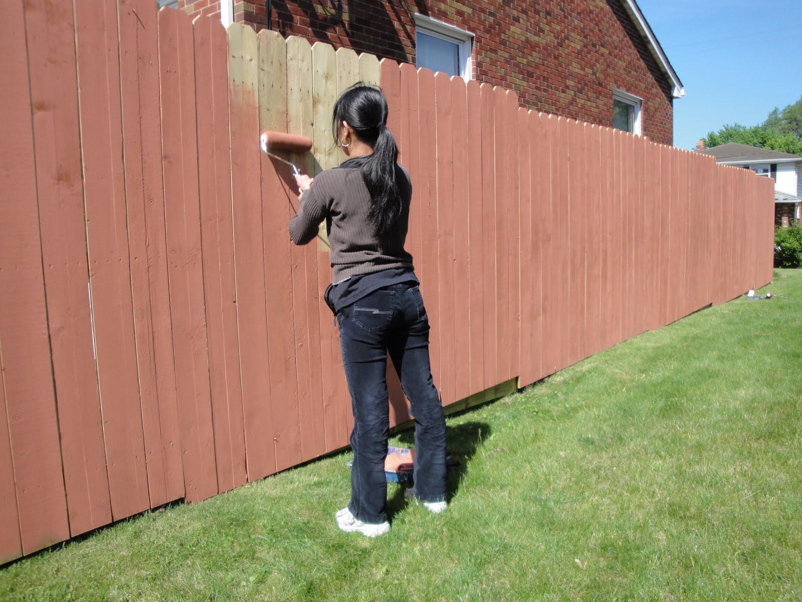 Делаем забор своими руками