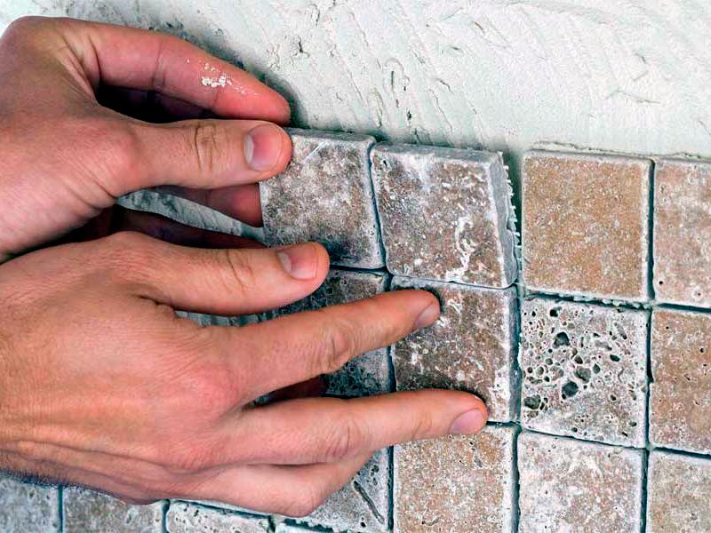Своими руками укладка стеклянная мозаика