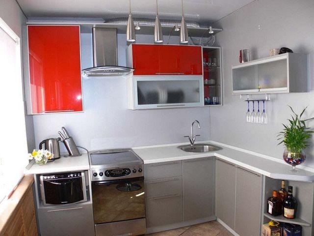 Небольшие кухни фото - Всё о мебели