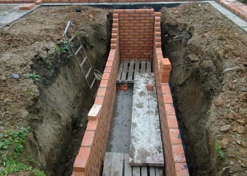 Как выкопать смотровую яму в гараже своими руками видео
