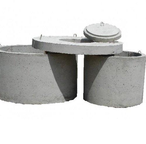 Септик из бетонные кольца своими руками 64