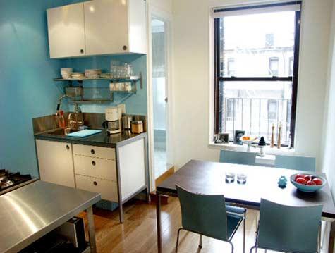 Desain modern foto dapur kecil