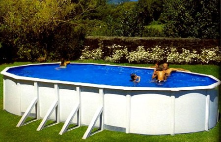 Prostor za bazenski okvir