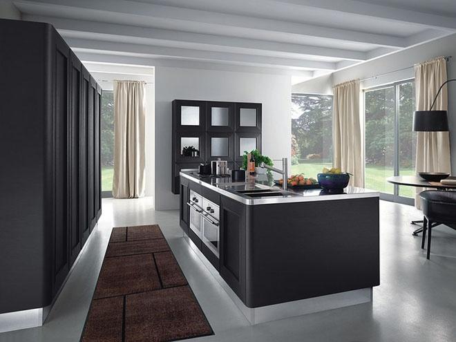 Современные минималистические дизайны кухни в белом цвете Newpix.ru - позитивный интернет-журнал