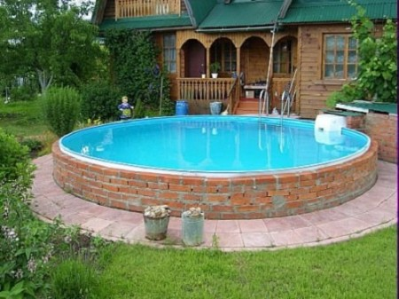 स्विमिंग पूल फिनिशिंग