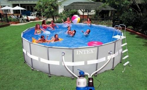 бассейн каркасный Intex инструкция по сборке - фото 4