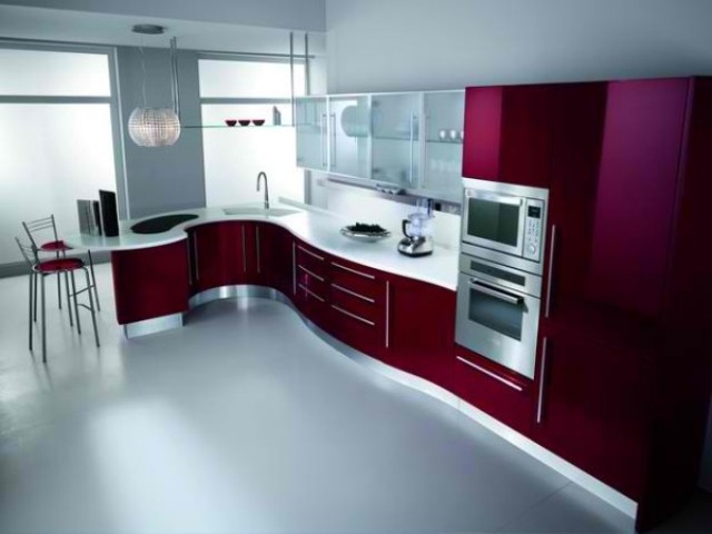 современная кухня Butterfly - Fiamberti - кухни