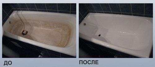Реставрация ванны своими руками Plastall Украина 90