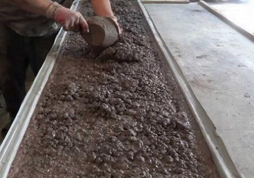 Еврозабор бетонный своими руками