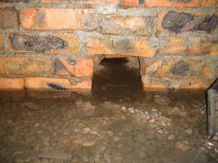 Затопление грунтовыми водами