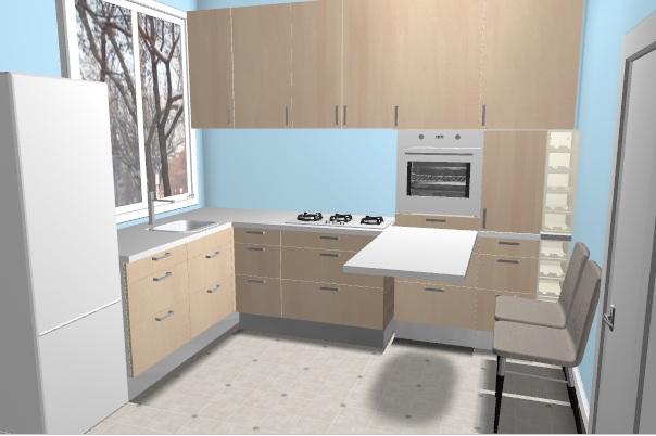 кујна 6 м2