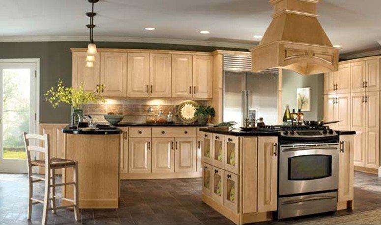 Fotografija: pećnica ugrađena na ostrvo u kuhinji - Fotografija