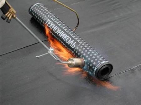 Нагрев гидроизоляции