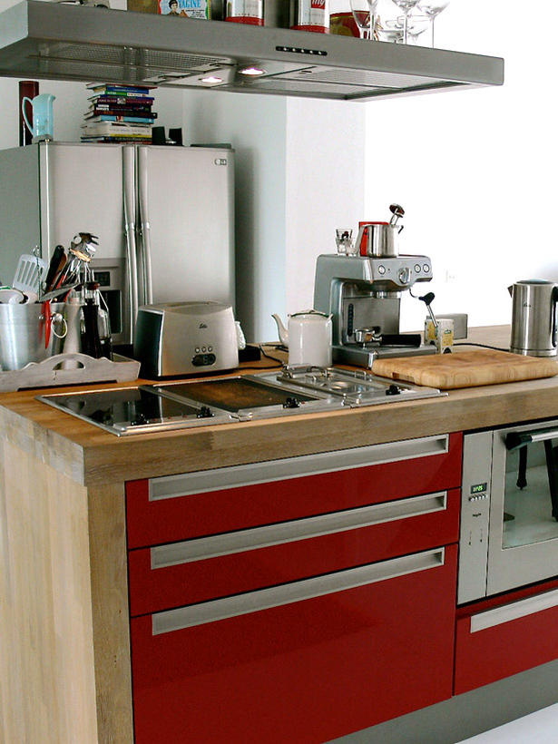 Kuhinja Povjerljivo: interesantna rješenja za malu kuhinju