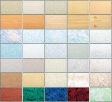 रंगों की विस्तृत श्रृंखला