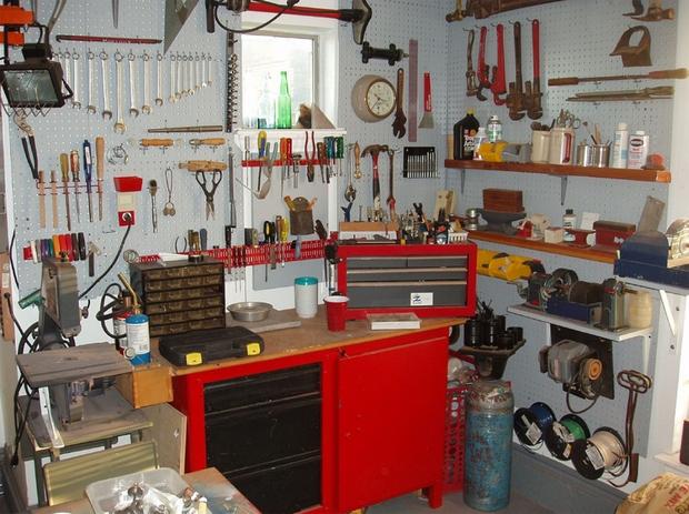 Utilisation efficace de l'espace pour atelier ou garage DIY DIY Ideas