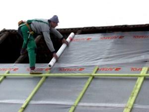 пароизоляция крыши.