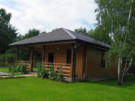 Дачный домик из чего строить
