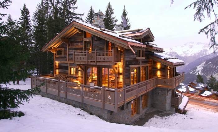 Дом в стиле шале своими руками