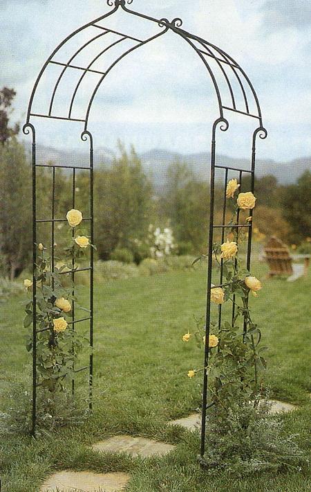 Арка для вьющихся роз