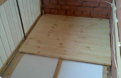 grindų izoliacija verandoje