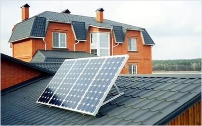 सौर हीटिंग के फायदे।