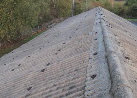 skrilavac na krovu
