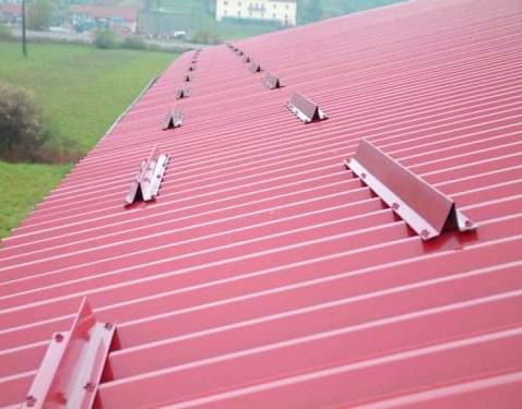 Снегозадержатели на крышу фото