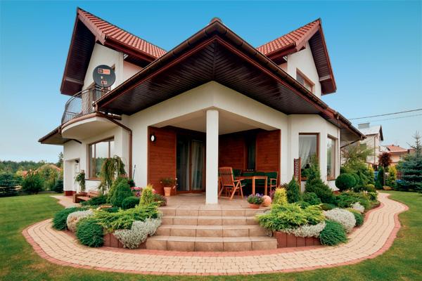 Крыльцо дома дизайн фото