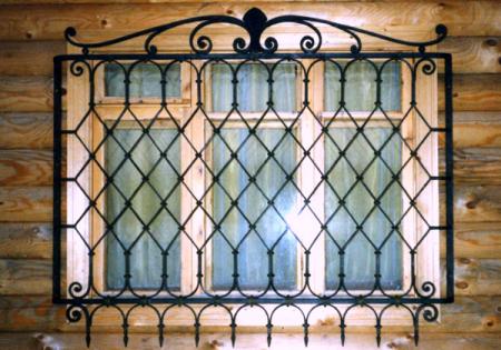 решетки в деревянны дом
