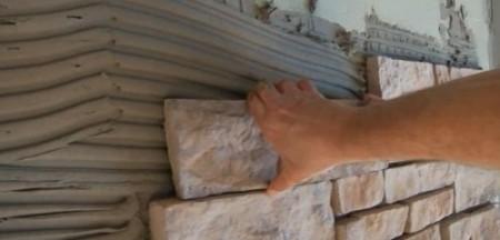pose de pierre déchirée - 2