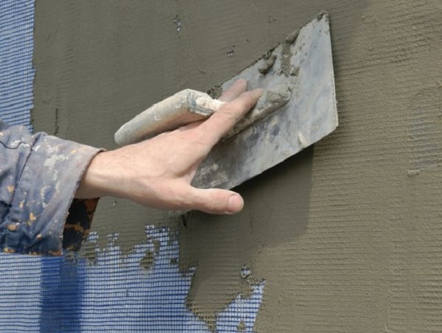 Штукатурка стен по утеплителю своими руками 78
