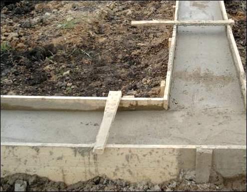 Как сделать фундамент под гараж своими руками видео