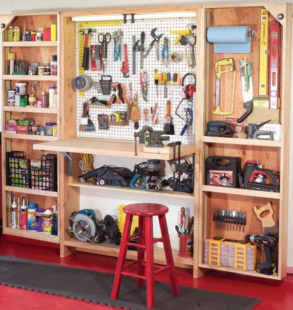 Как построить мастерскую своими руками фото