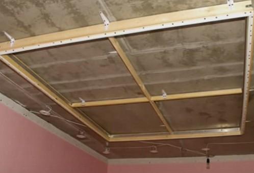 Image 1 рама потолок