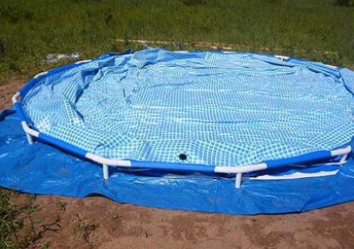 okrugli okvir-bazen-setup