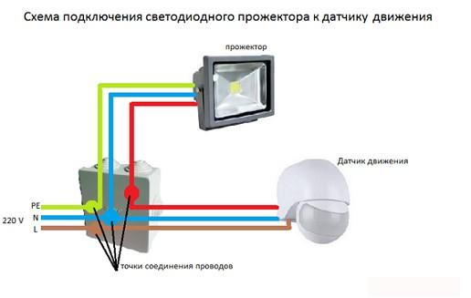 shema_podcluchenija_prozhektora-2