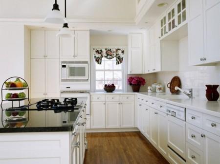 सफेद रसोईघर
