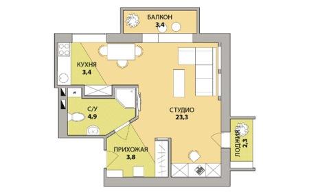 dizajn_trehkomnatnoy_kvartyry1