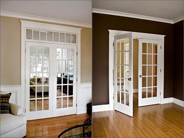 Що необхідно знати про скління дверей