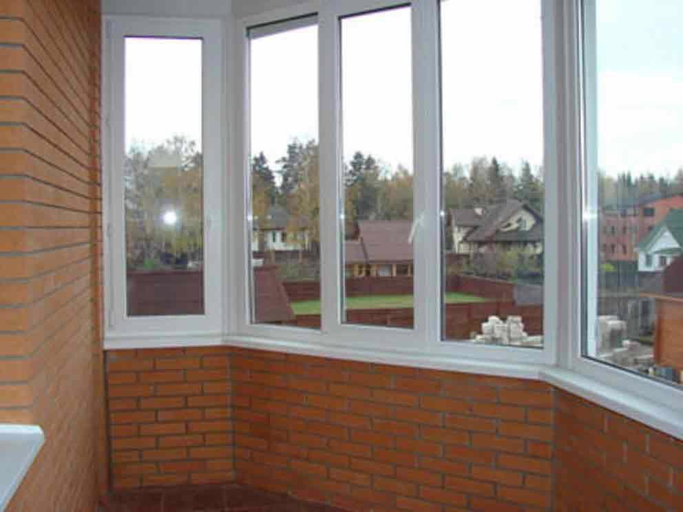 Остекление балконов и лоджий: алюминиевое остекление, остекл.