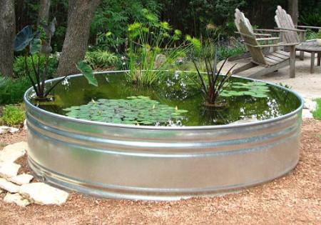 Из чего сделать емкость для воды своими
