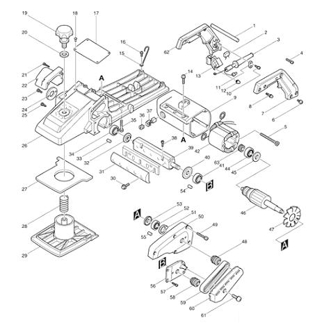 Slika 1 Rezervni dijelovi
