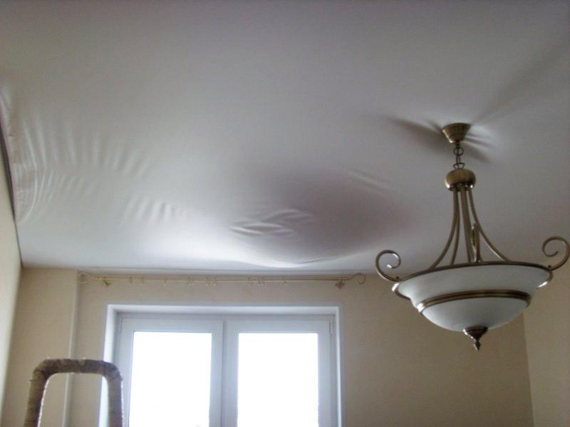 натяжной потолок тканевый своими руками пошаговая инструкция