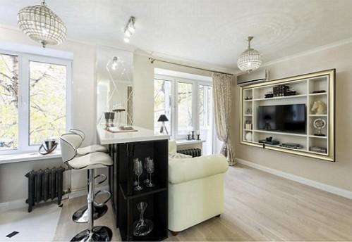 Intérieur-studio appartements de 29 m²