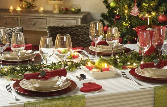сервировка-стола-на-Новый-год-2017