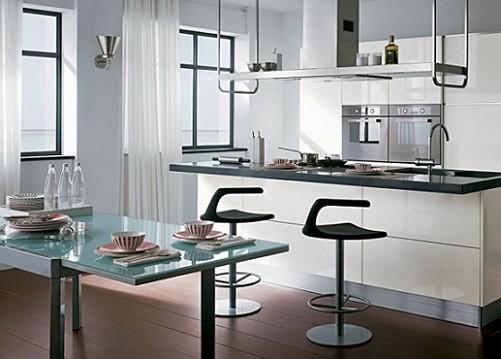 पर्दे के लिए रसोई घर-9