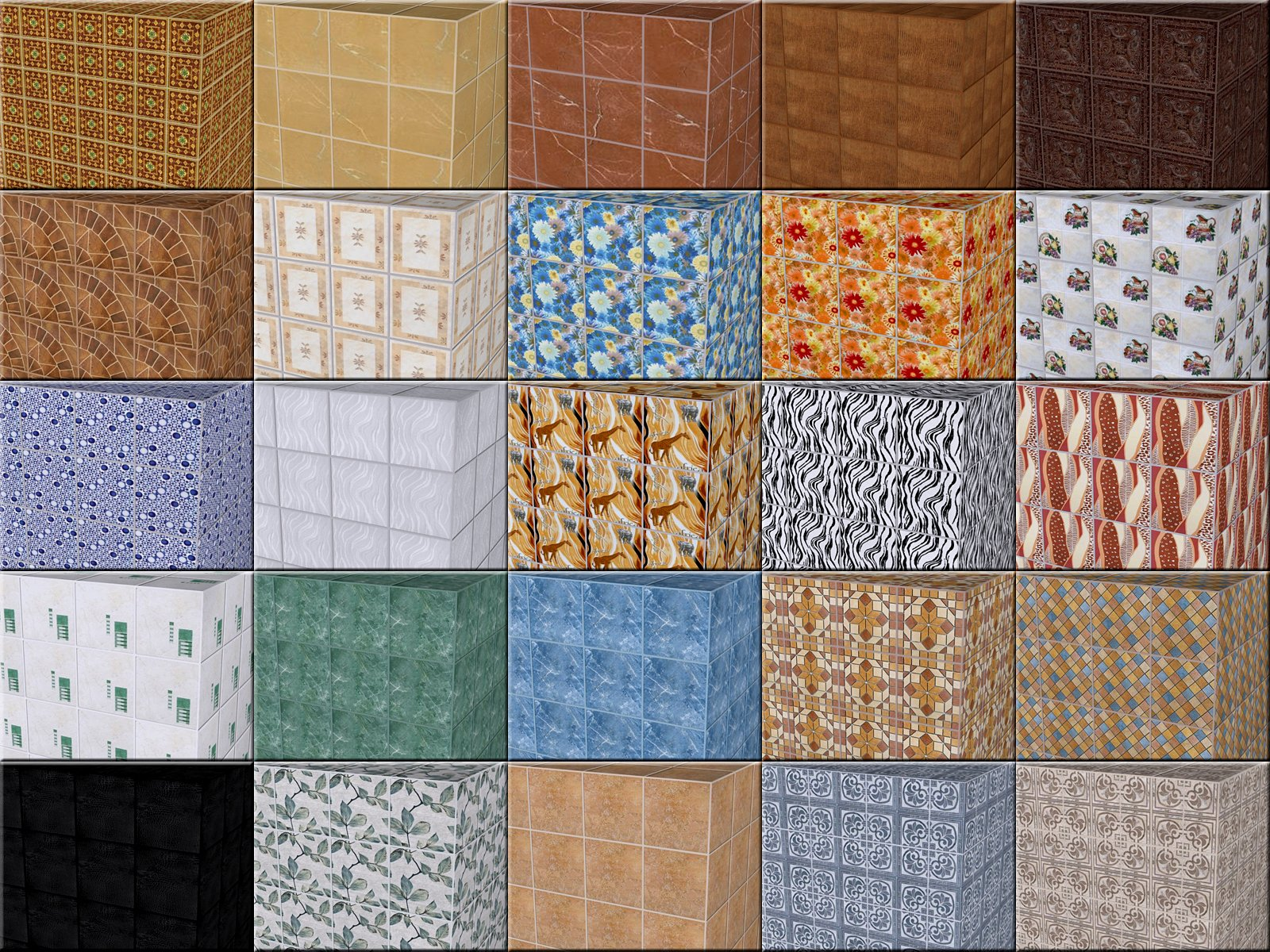 Ceramic tile specifications