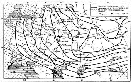 11_Карта промерзания
