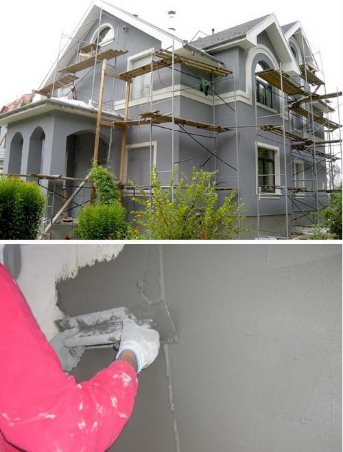 Pokraska-fasada-doma-stroitelnye-lesa